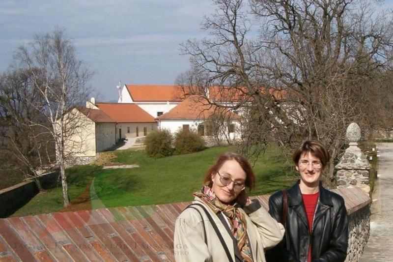 Dórka Beke and Márta birkás at Szomolány