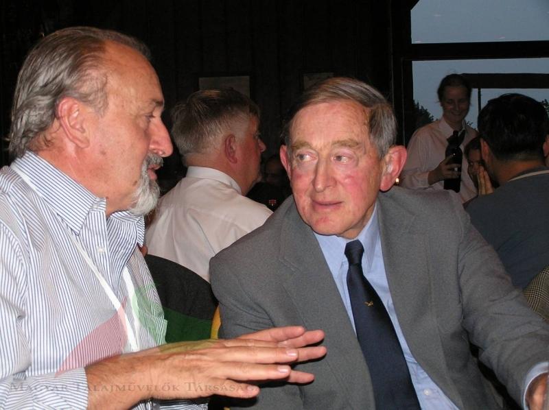 István Jóri J. and Brennan Soane in Kiel, 2009