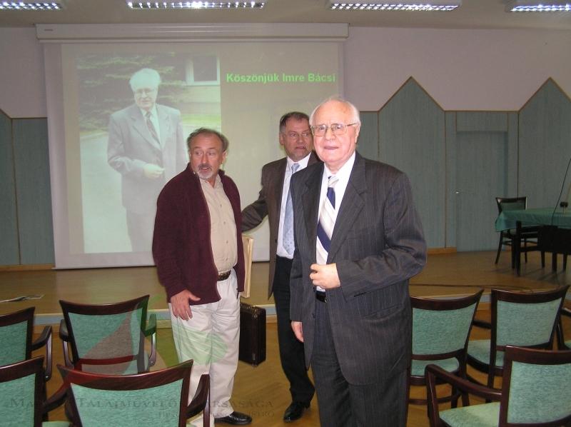 Imre Dimény's greeting