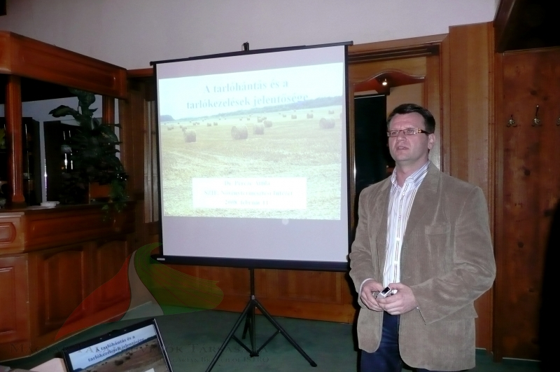 Attila Percze teaching