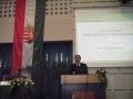 János Nagy opening a conference