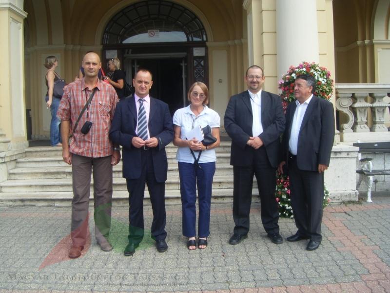 Croatian colleagues 2008