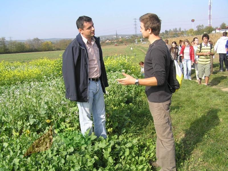 Csaba Gyuricza teaching