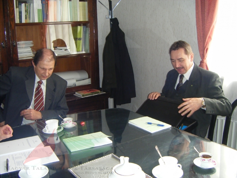 Sándor Hoffmann and Rezső Schmidt