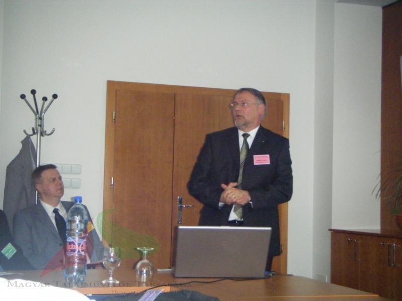 Milan Mesic and Miklós Neményi