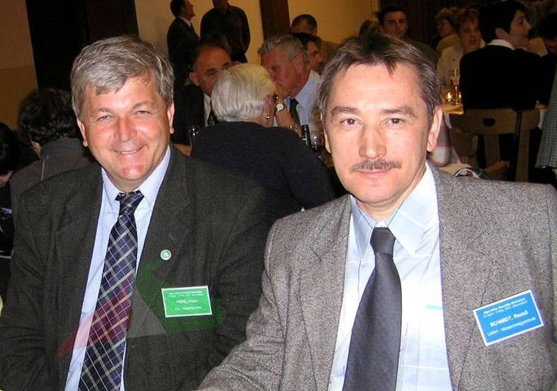 Péter Pepó and Rezső Schmidt