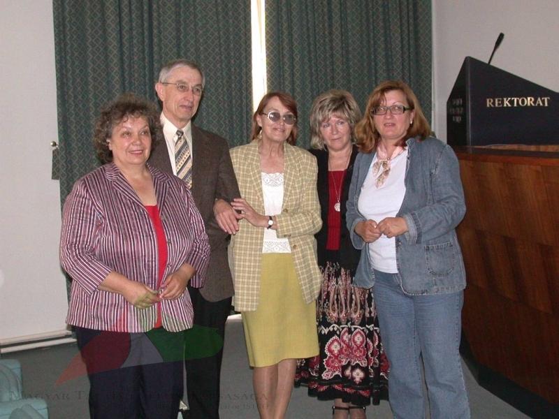 John Morrison and Márta Birkás in Eszék, 2007